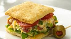 Cheesy BLT Mini Sandwiches Recipe