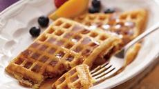 Bacon Buttermilk Waffles Recipe