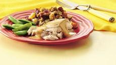 Turkey with Cranberry Stuffing Recipe