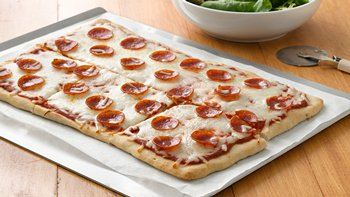 Pizza with Veggie-Packed Sauce