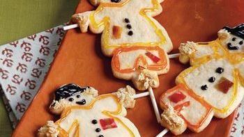 Scarecrow Sugar Cookies