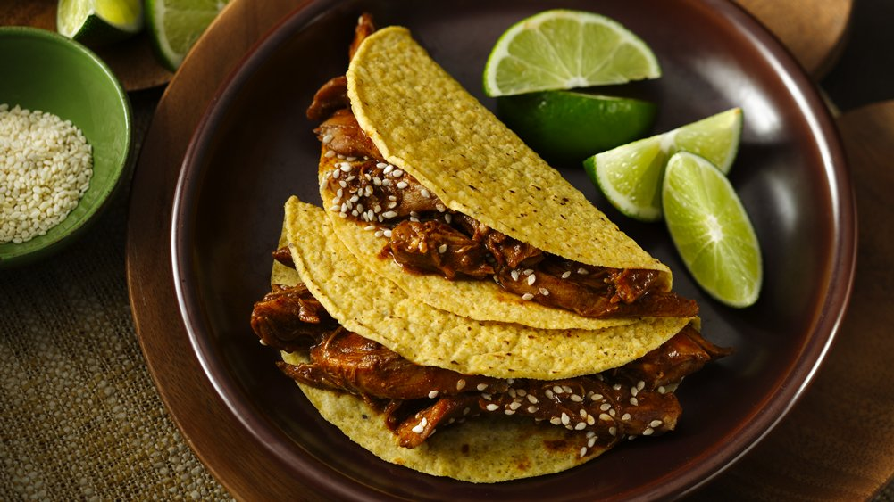 Turkey Mole Taco