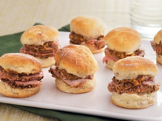 Peppered Pork with Pecan Biscuits