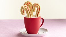 Easiest Ever Peppermint Spritz Cookies Recipe