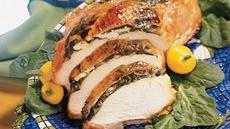 Spinach and Feta-Stuffed Turkey Breast Recipe