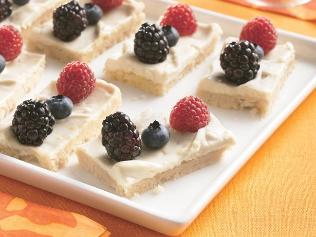 Fresh Berry Dessert Bites