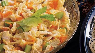 Carrot, Celery and Chinese Cabbage Salad