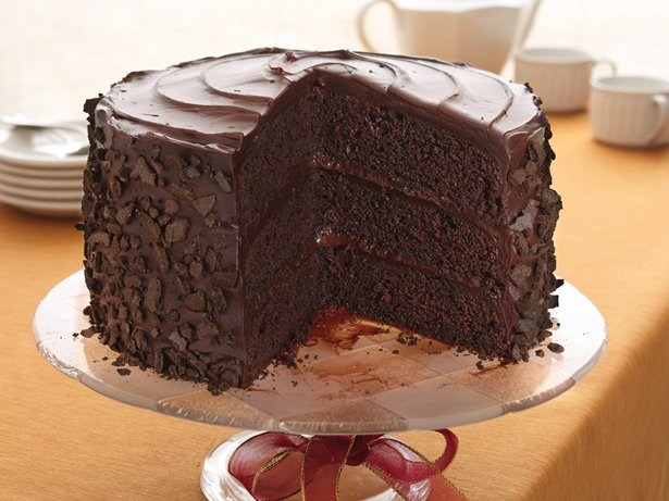 All-the-Stops Chocolate Cake