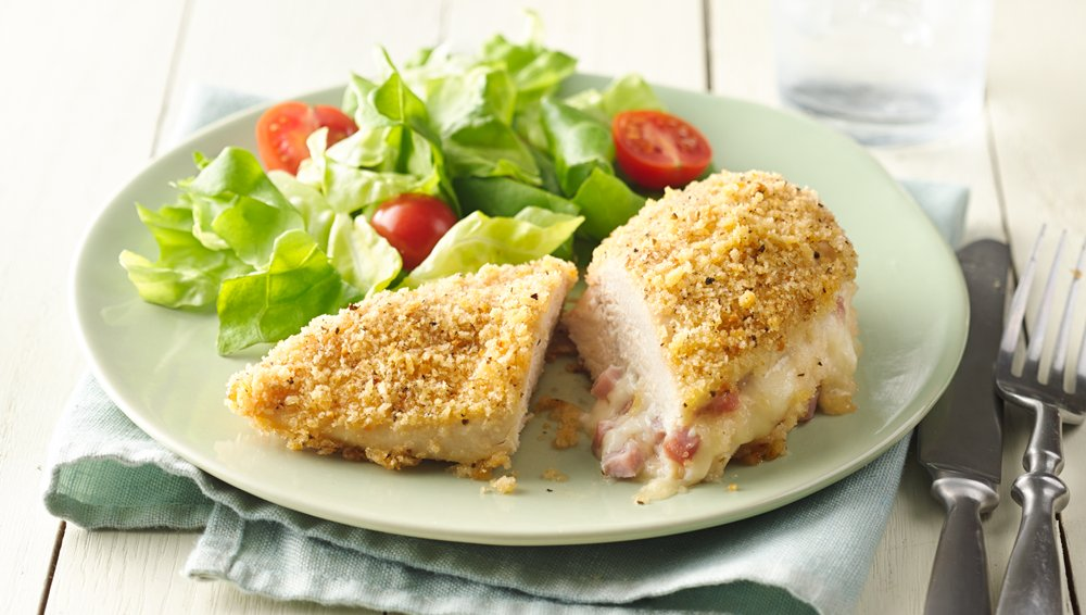 Stuffed Chicken Breasts Cordon Bleu recipe from Pillsbury.com