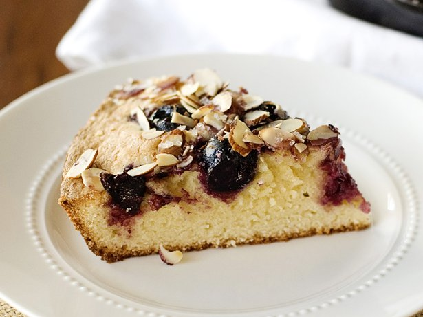 Cherry-Almond Skillet Cake