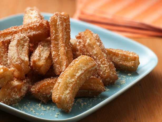 Garlic and Parmesan Churros
