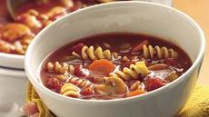 Slow Cooker Tomato Rotini Soup Recipe