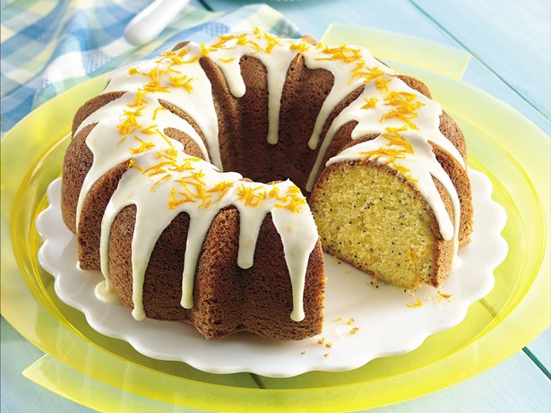 Orange-Poppy Seed Cake