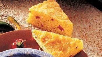 Cheddar Pepper Cornbread