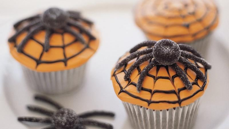 Halloween is all about the candy, but there are so many other frighteningly delicious treats you can quickly whip up at home, too. From savory mummy hot dogs to sweet and sinister spider web.