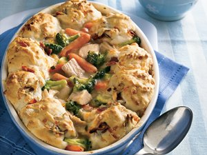 Turkey-Biscuit&#32;Pot&#32;Pie