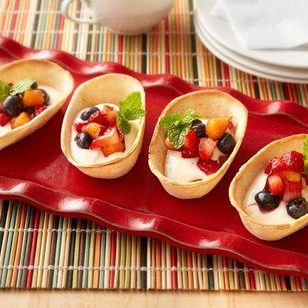 mini churro taco boats