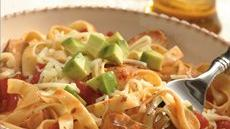 Southwest Chicken and Fettuccine Recipe