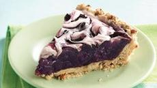Crunchy Crust Blueberry Swirl Pie Recipe