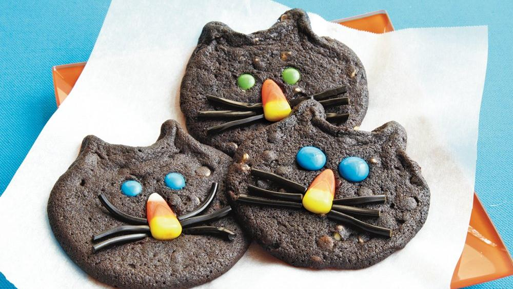 Chocolate Cat Cookies