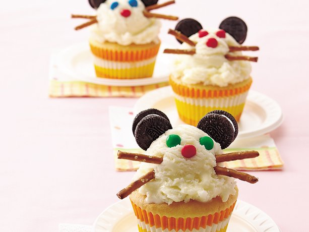 Sr. Ratón Partido Cupcakes