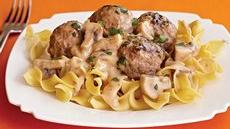 Turkey Meatball Stroganoff Recipe