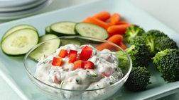 Gluten Free Fresh Dill Yogurt Dip