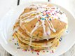 Cake Batter Pancakes