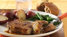 Honey Mustard-Glazed Pork Chops Recipe