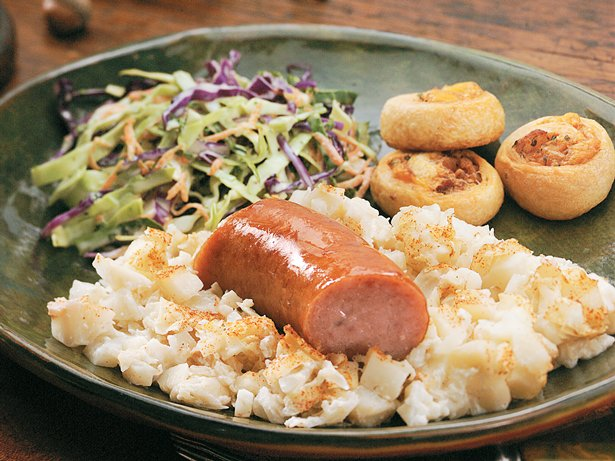 German Potato and Sausage Casserole