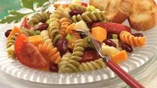 Double Cheese, Bean and Pasta Salad Recipe