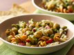 Asiago Cheese-Chick Pea Pasta Salad