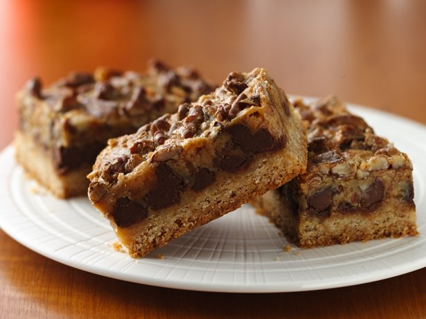 Mocha-Toffee Truffle Bars