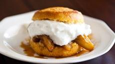 Boozy Apple Shortcakes Recipe