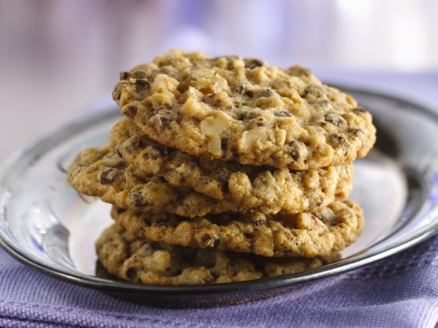 Slice n Bake Oatmeal Chocolate Chip Cookies