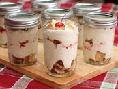 Homemade Eggnog Ice Cream Parfaits