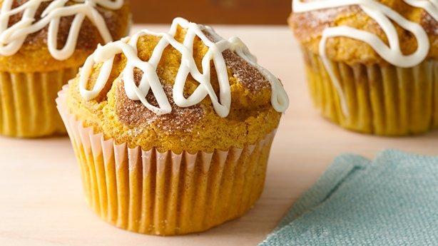 Cinnamon-Pumpkin Muffins