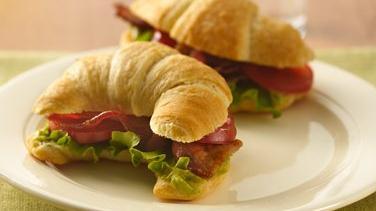 BLT Crescent Sandwiches