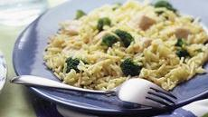 Skillet Chicken and Broccoli With Rice Recipe