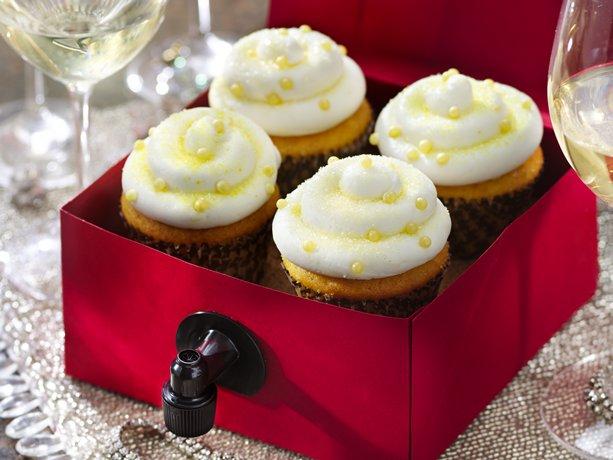 Sauvignon Blanc Vino Cupcakes