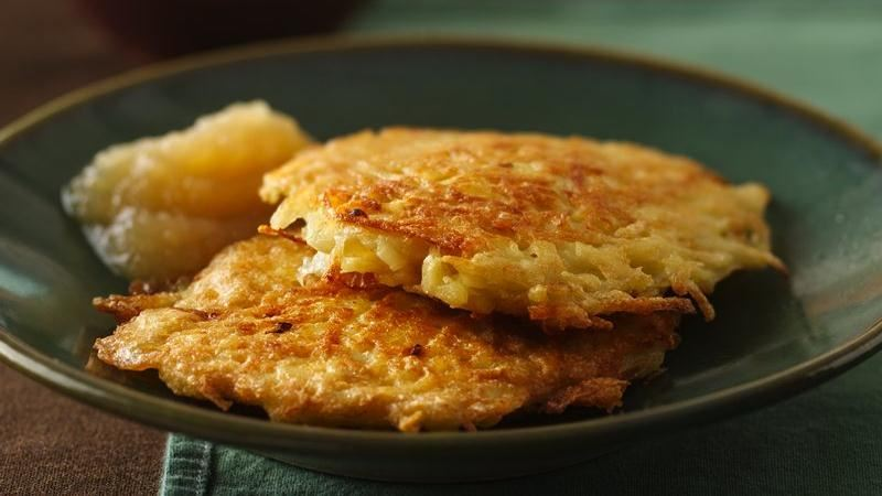Bisquick® Potato Pancakes recipe from Betty Crocker