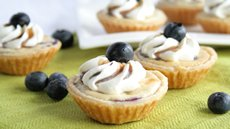 Grilled Blueberry Cheesecake Mini Pies Recipe