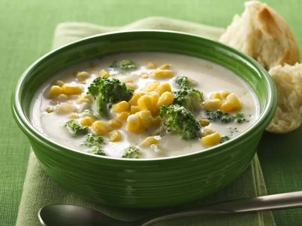 Creamy Corn and Broccoli Chowder
