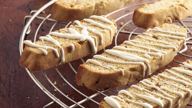 Maple-Nut Biscotti recipe from Betty Crocker