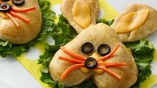 Bunny Pizza Pockets Recipe