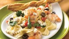 Mediterranean Pasta with Shrimp Recipe