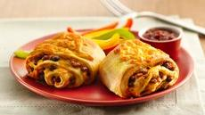 Beef and Bean Burritos (Cooking for Two) Recipe