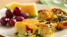 Veggie Egg Bake Recipe
