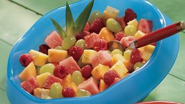 Gingered Fresh Fruit Salad