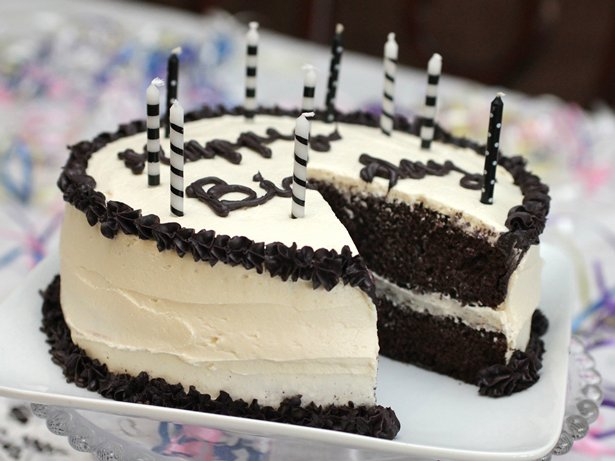 Rum and Cola Birthday Cake